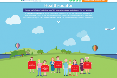 Health-Ucator: Health Insurance & Your Life Stage Infographic