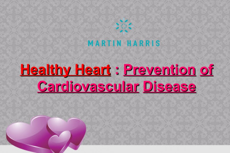 Healthy Heart : Prevention of Cardiovascular Disease Infographic