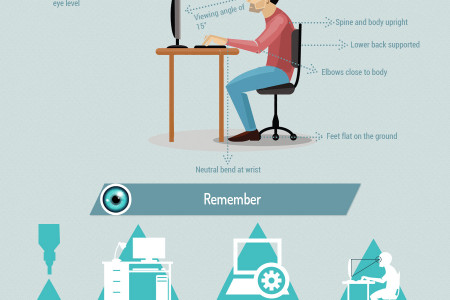 Healthy Vision in the Workplace  Infographic