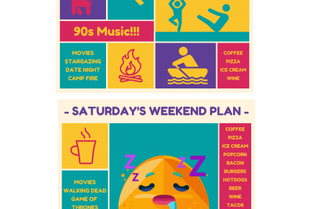 Healthy Weekend Workout Plans Infographic