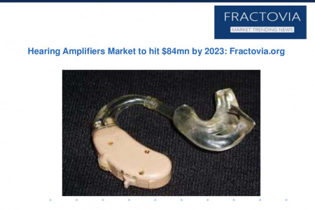 Hearing Amplifiers Market share to surpass $84mn by 2023 Infographic