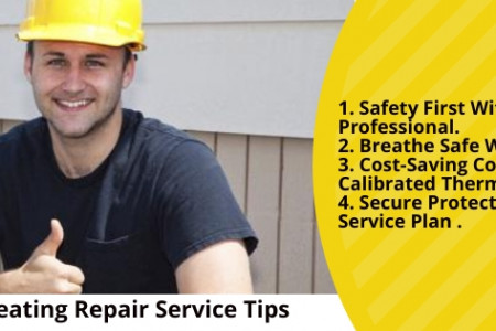 Heating system repair tips Infographic