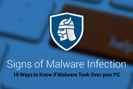 Heimdal Security Company: 10 Warning Signs that Your Computer is Malware Infected Infographic