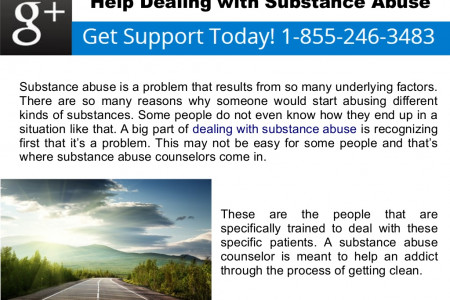 Help Dealing with Substance Abuse Infographic