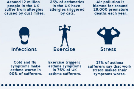 Help to manage asthma the natural way Infographic