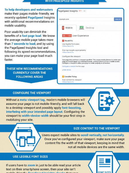 Helping Users Find Mobile-Friendly Pages Infographic