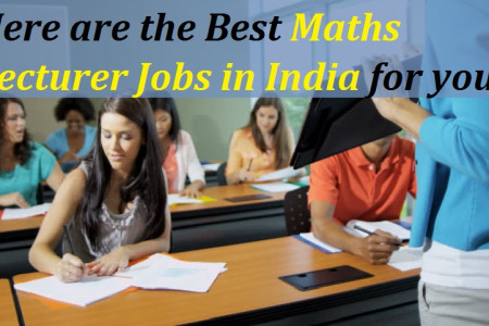 Here are the Best Maths Lecturer Jobs in India for you. Infographic