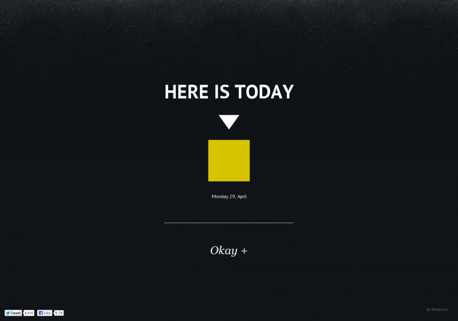 Here is Today Infographic