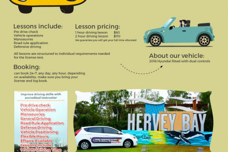 Hervey Bay Friendly Local Driving School Infographic