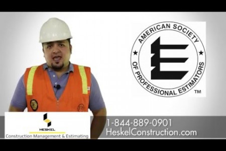 Heskel Construction Management and Estimating Infographic