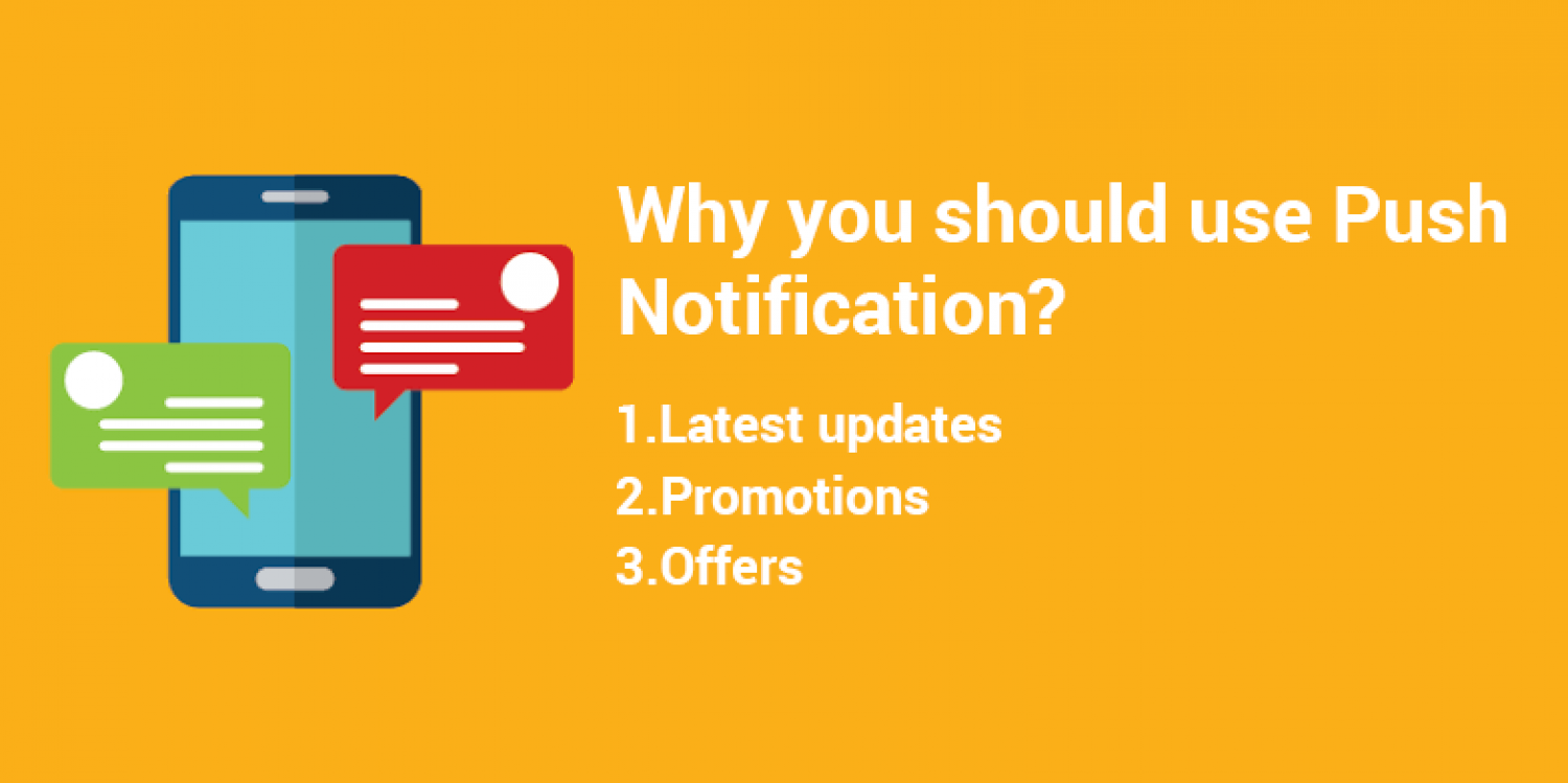 Hey !!! Do you know why we should use push notification what's the #benefits? Infographic