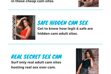 Hidden Cam Sex Are No Secret Now - A Guide To Safe Adult Webcams Infographic