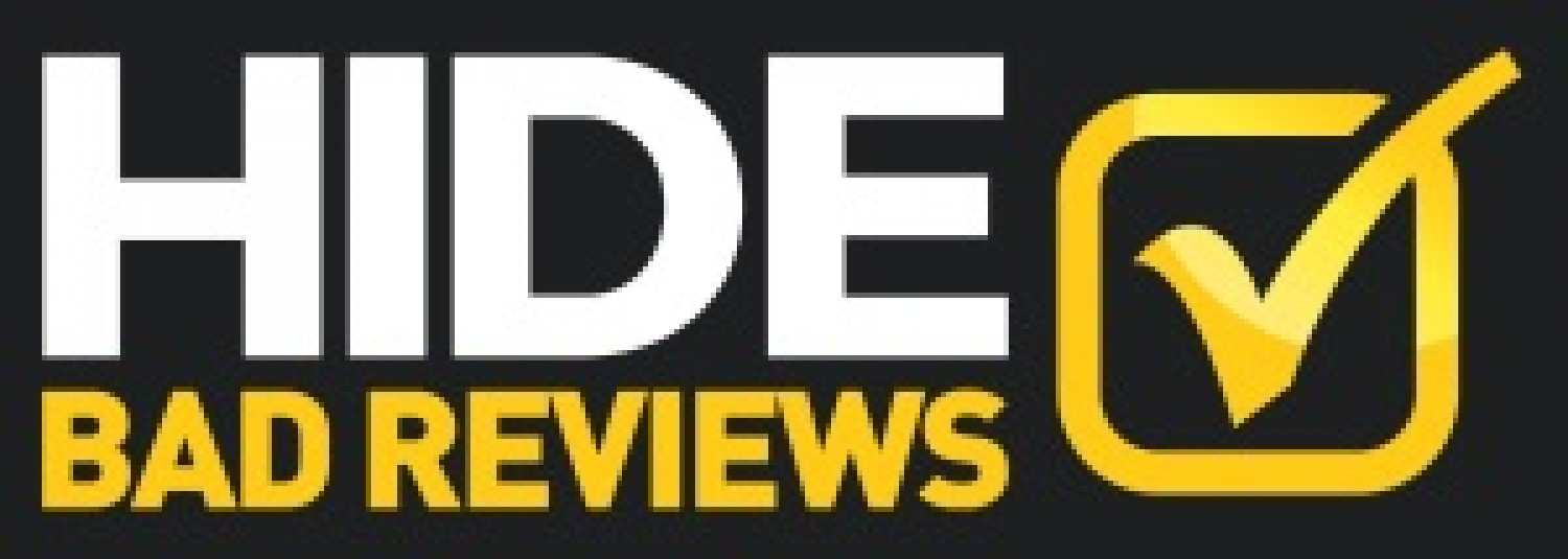 Hide Bad Reviews Infographic