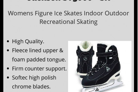 High Quality Women Figure Ice Skates Infographic