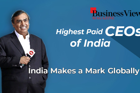 Highest Paid Ceos In India Infographic