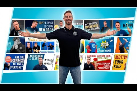 Highlights From Parenting Tips & Advice Videos 1-15   Dad University Infographic