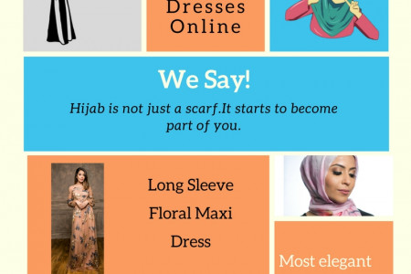 Hijab Shop | Munira Ismail | The Muslimah Closet Infographic