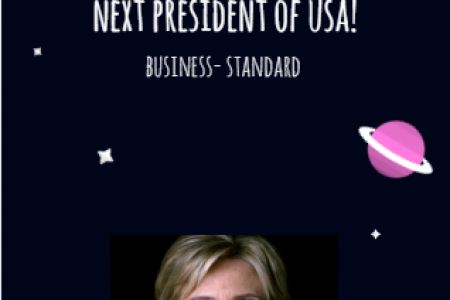 Hillary Clinton will be next president? Infographic