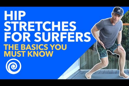 Hip Stretches for Surfers-The BASICS You Must Know Infographic