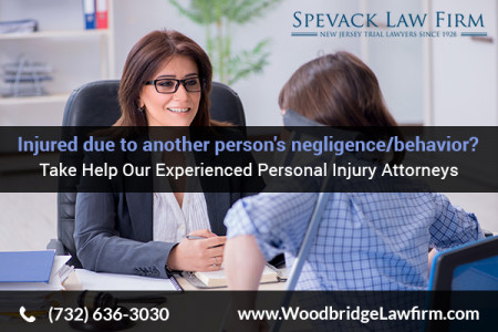 Hire a Personal Injury Attorney In Middlesex, NJ Infographic