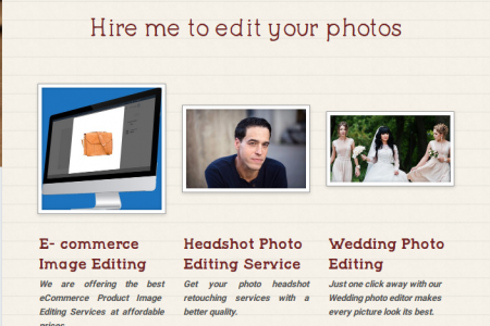 Hire a Photoshop expert Infographic