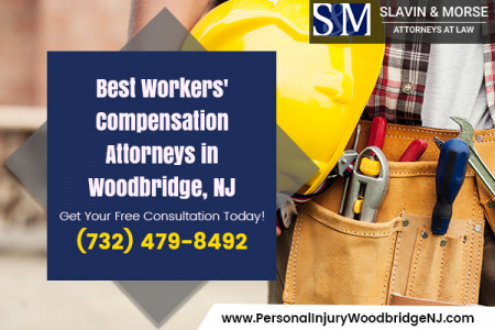 Hire a workers compensation attorney in Woodbridge NJ Infographic