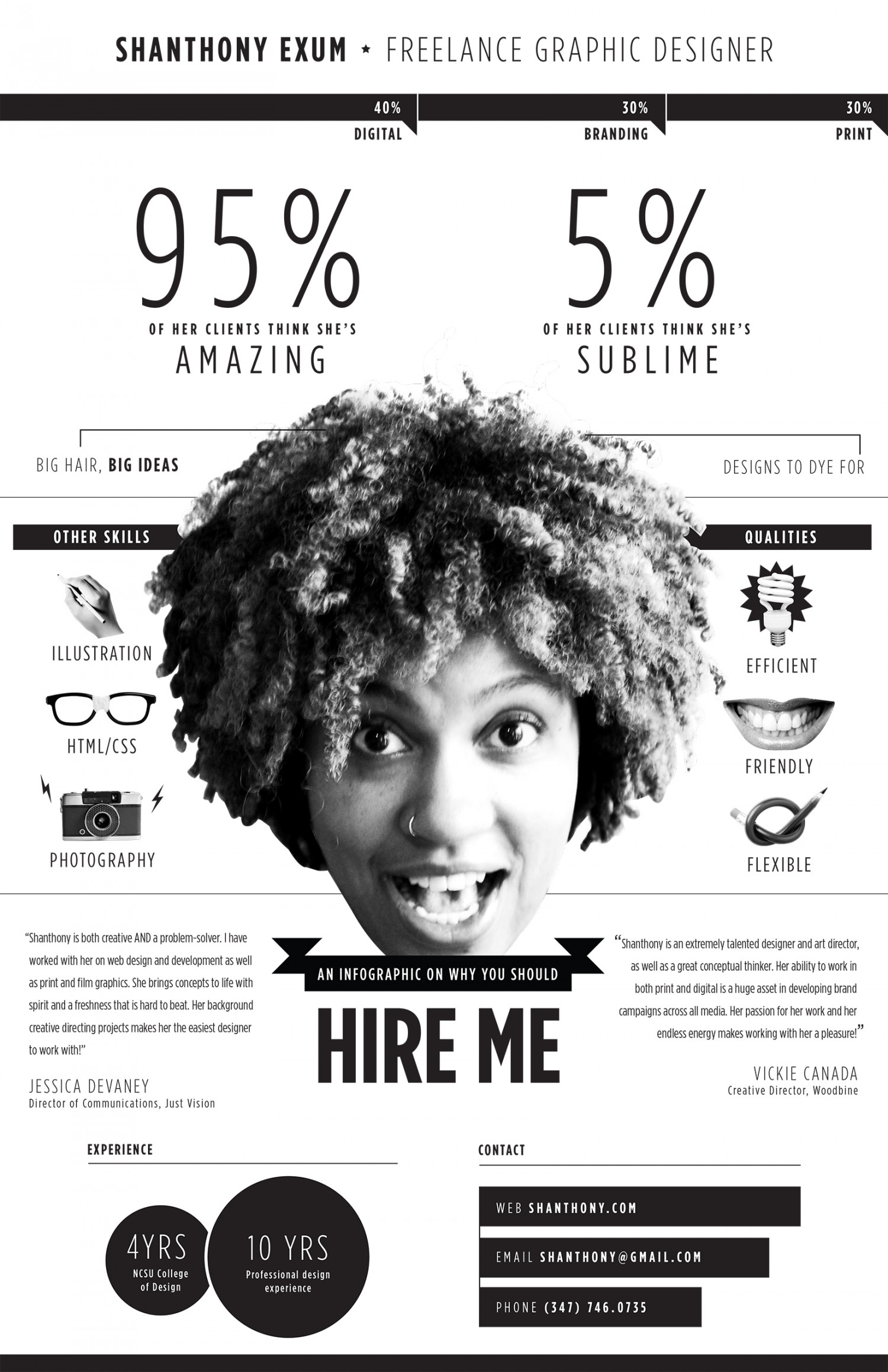 Hire Me! An Infographic Infographic