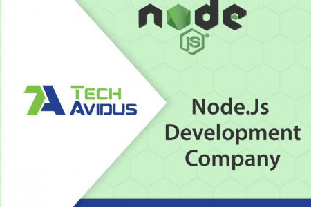 Hire NodeJS Application Development Company Infographic