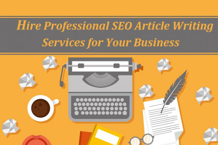 Hire Professional SEO Article Writing Services for Your Business Infographic