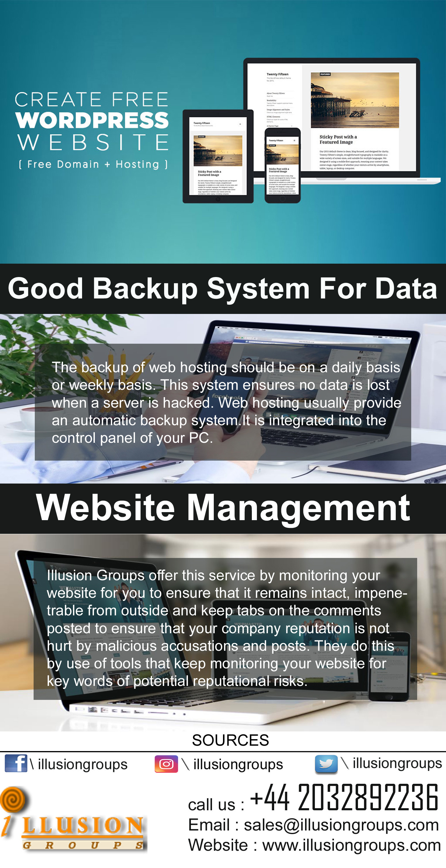 Hire Professional Website Maker To Build Free Website On Own Infographic
