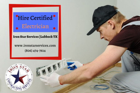 Hire Residential & Commercial Electrician in Lubbock Tx Infographic