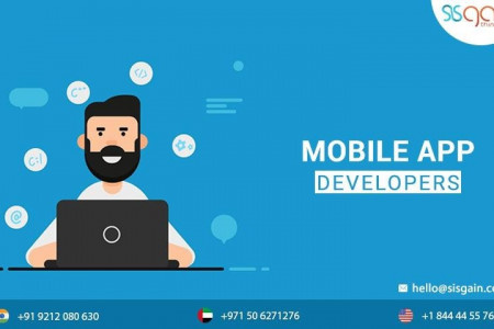 HIRE THE BEST MOBILE APPLICATION DEVELOPERS IN DUBAI  Infographic