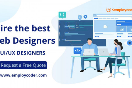Hire Web Designers Infographic