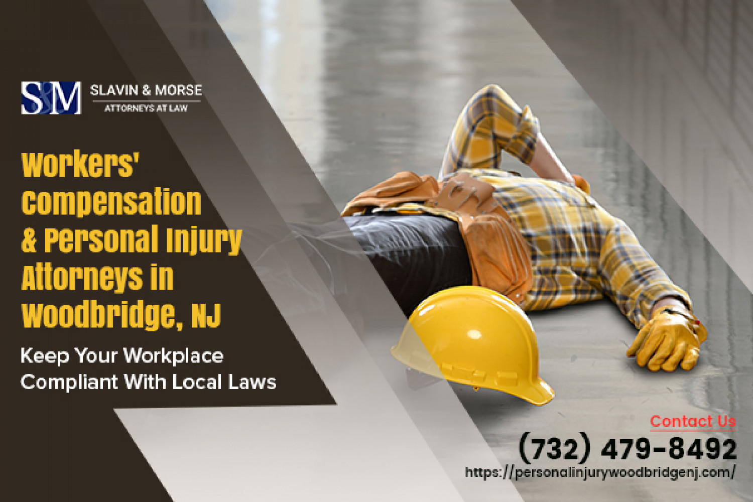 Hire workers compensation law firm in Woodbridge, NJ Infographic