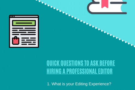 Hiring a Professional Manuscript Editor? Quick Questions to Help Choose Better Infographic