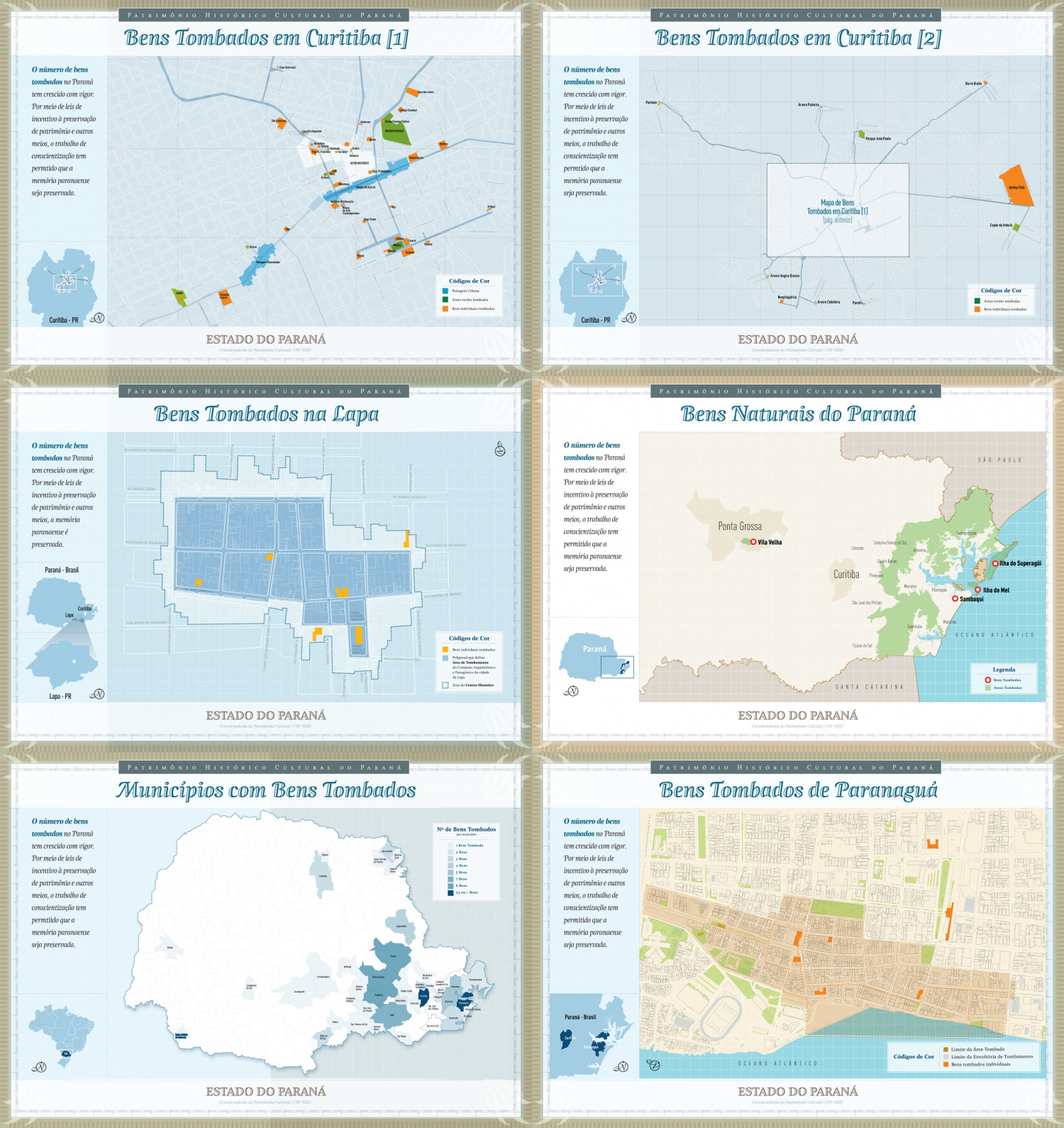 Historical Heritage – Building Location Map Infographic