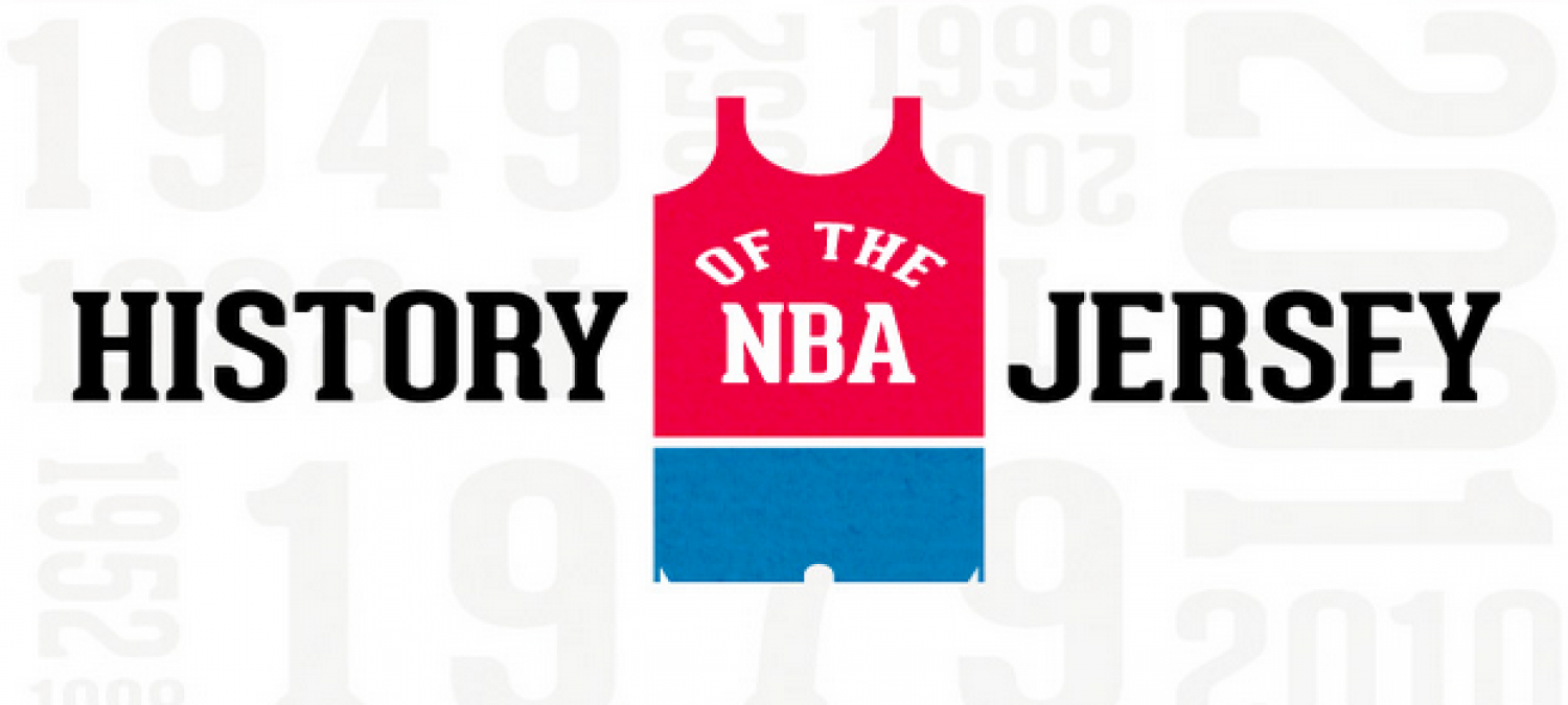 History of NBA Jersey Infographic