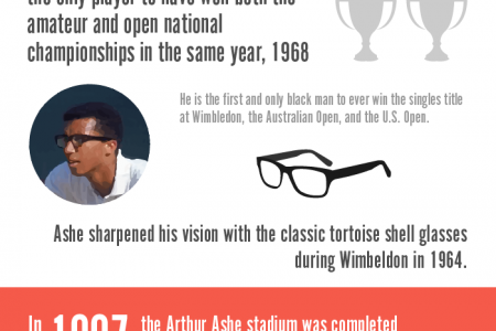 History of US Open Tennis  Infographic