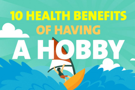 Hobbies for Men: 10 Life Changing Health Benefits Infographic
