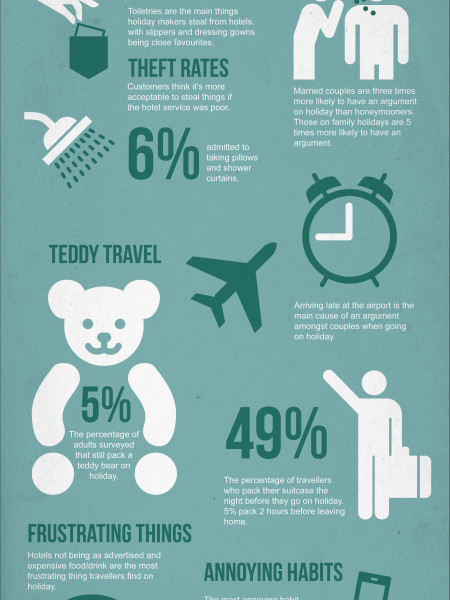 Holiday Confessions Infographic