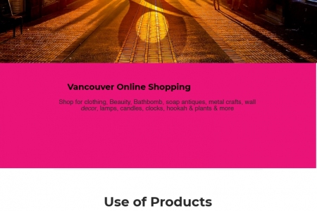 Home And Decor Online Shopping Infographic