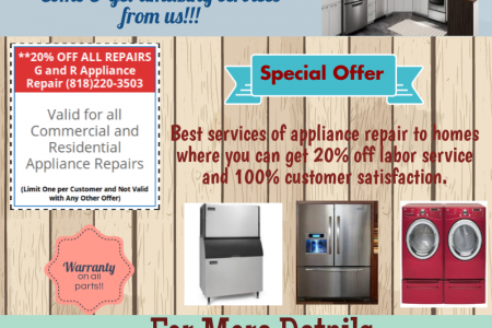 Home Appliance Repair In Orange County Infographic
