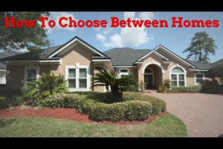 Home Buying Tip: How To Choose Between Homes Infographic