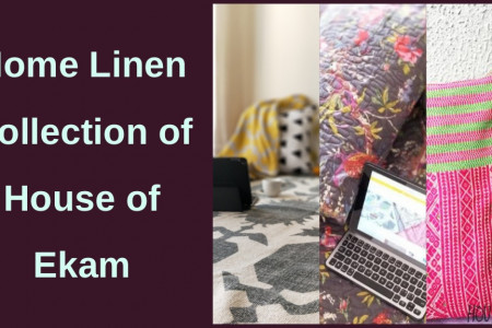 Home Linen Collection of House of Ekam Infographic