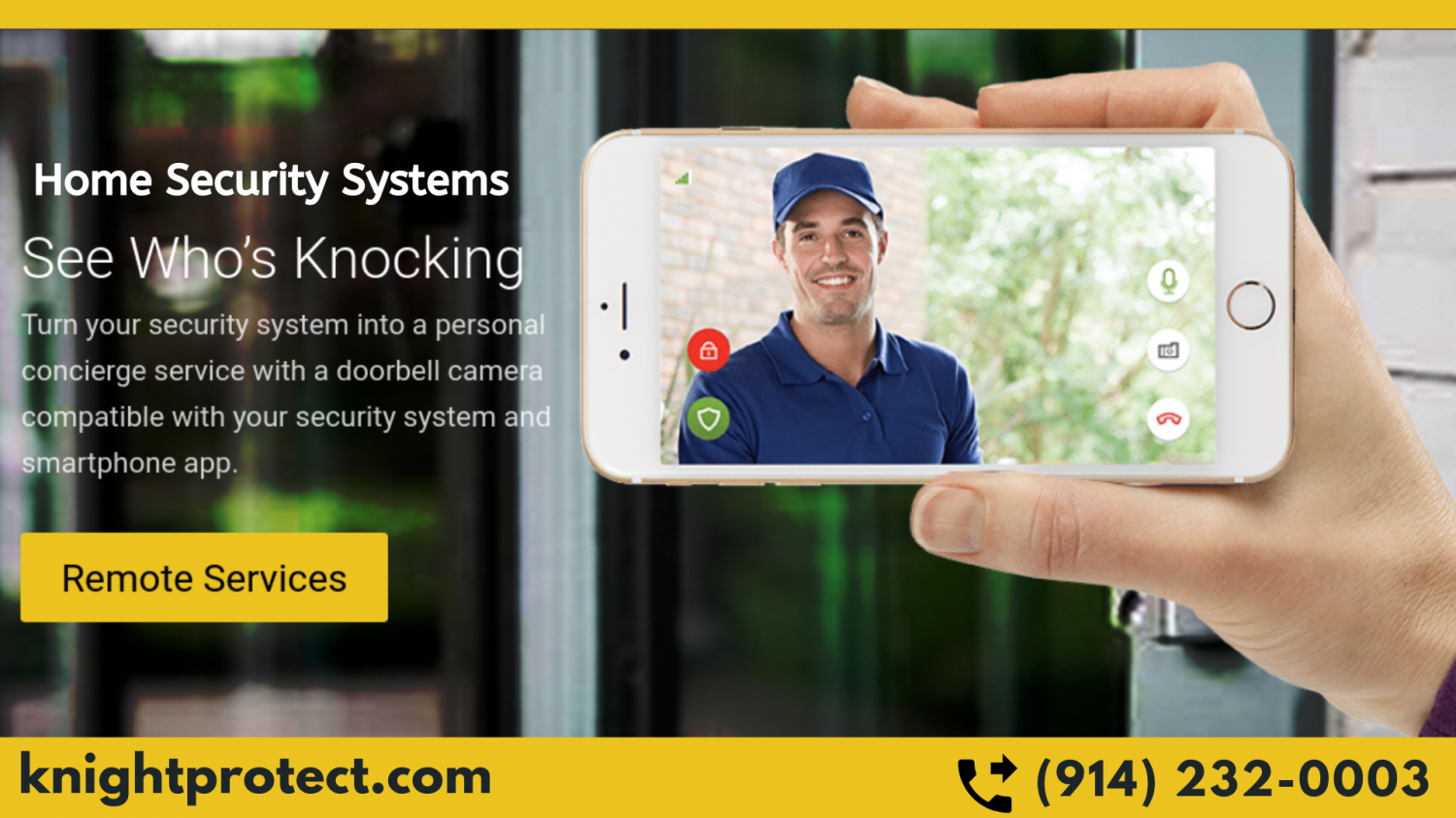 Home Security Systems Westchester Infographic