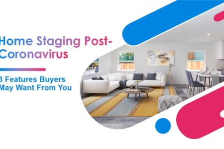 Home staging post coronavirus 3 features buyers may want from you Infographic
