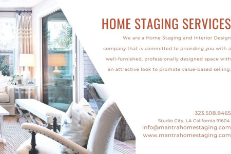 Home staging Services in LA California Infographic