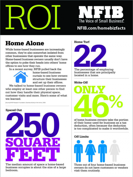 Home-based Businesses Infographic