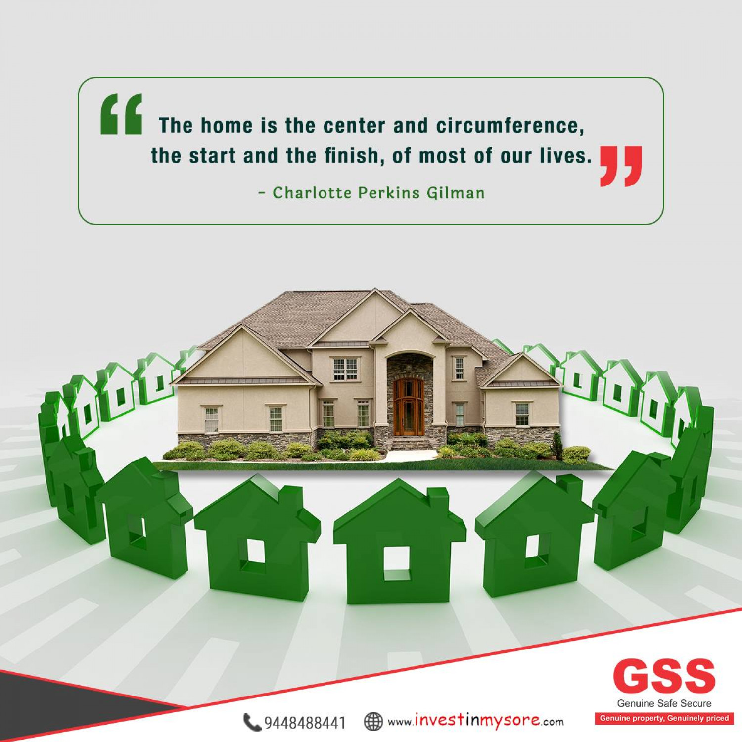 Homebuyers in Mysore - GSS Properties Infographic