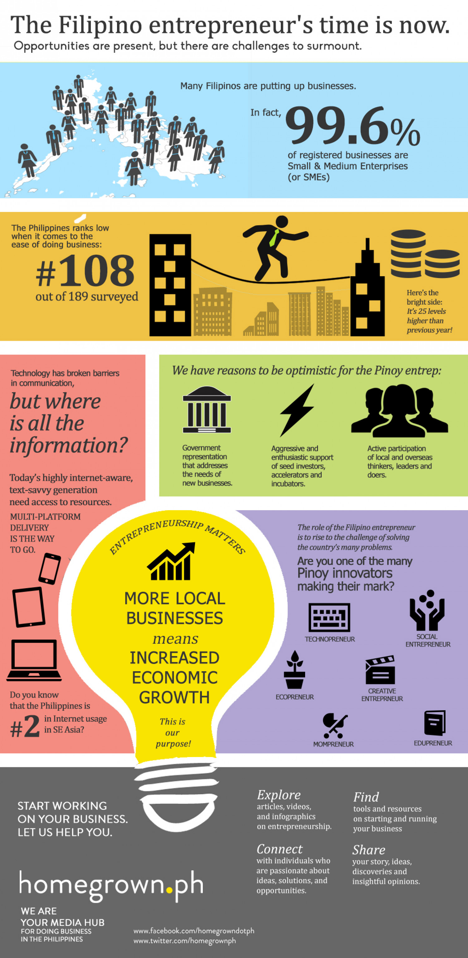 "Homegrown Media Infographic ""Why"" Story Infographic"